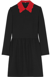 Riri stretch-crepe mini dress