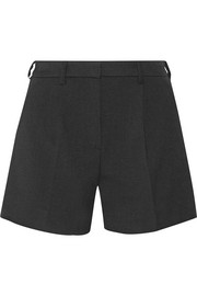 Intrepide crepe shorts