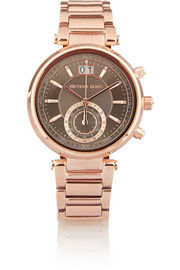 Sawyer rose gold-tone watch