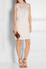 Calvin Klein Collection Satin-crepe mini dress