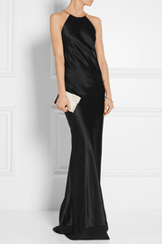 Calvin Klein Collection Silk-satin gown