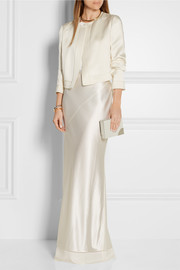 Calvin Klein Collection Satin-crepe jacket