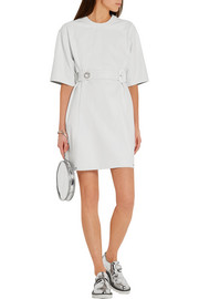 Calvin Klein Collection Forby belted leather mini dress