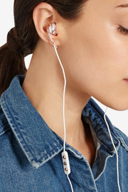 Ella B rose gold-tone headphones