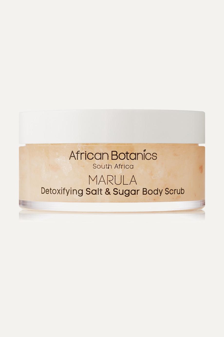 Marula Detoxifying Salt and Sugar Body Scrub, 200ml