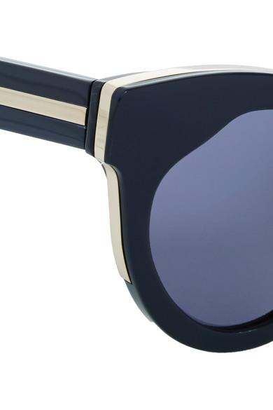 654e8709f01e Karen Walker. Starburst cat-eye acetate sunglasses.  300. Zoom In