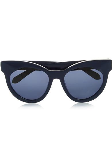 bd06fe518494 Karen Walker. Starburst cat-eye acetate sunglasses