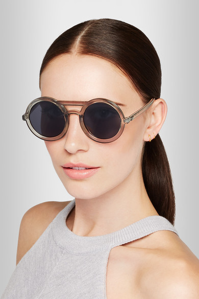633e6139ae Radio Star round-frame acetate sunglasses