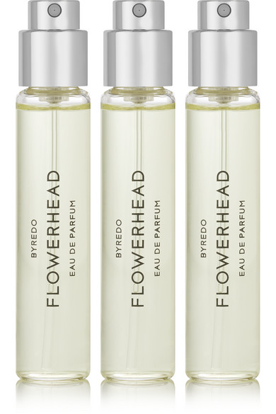 byredo female byredo flowerhead set eau de parfum angelica seeds sicilian lemon 3 x 12ml