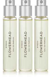 Flowerhead Set Eau de Parfum - Angelica Seeds & Sicilian Lemon, 3 x 12ml
