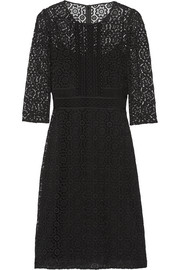 Burberry Prorsum Cotton-blend guipure lace dress