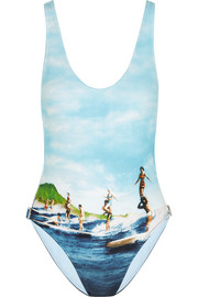 Almada printed swimsuit