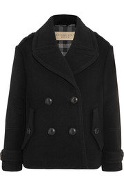Burberry Brit Wool-blend peacoat