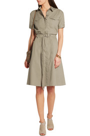 Burberry Brit Belted cotton-twill dress