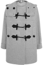 Wool and cashmere-blend duffle coat
