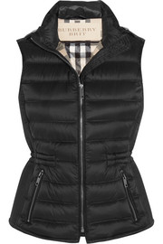 Burberry Brit Quilted shell down gilet