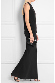 Rick Owens Stretch-faille maxi skirt