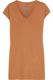 Stretch-jersey tunic