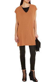 Rick Owens Stretch-jersey tunic