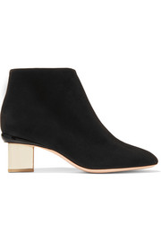 Briona Prism suede ankle boots