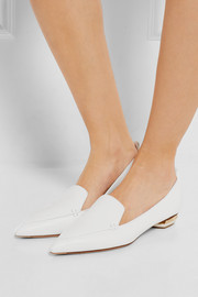 Beya leather point-toe flats