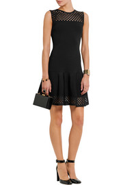 Fendi Cutout knitted mini dress