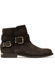 London suede ankle boots