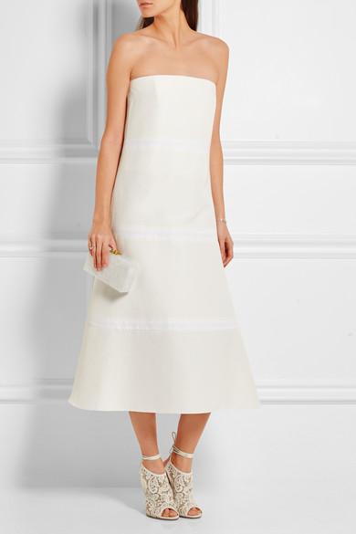 Roksanda Kleid aus einer Baumwoll-Seidenmischung