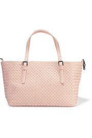Bottega Veneta Shopper medium intrecciato leather tote