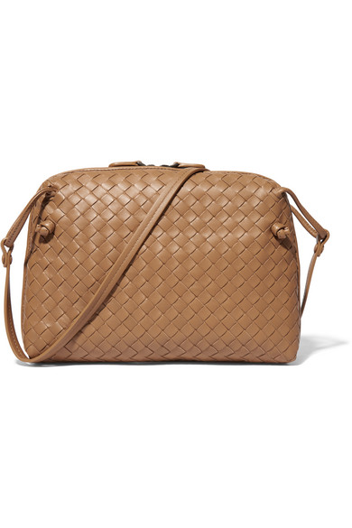 731beeb708 Bottega Veneta. Messenger intrecciato leather shoulder bag