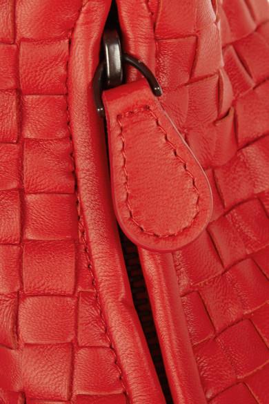 6eed78a207 Bottega Veneta. Veneta large intrecciato leather shoulder bag.  2