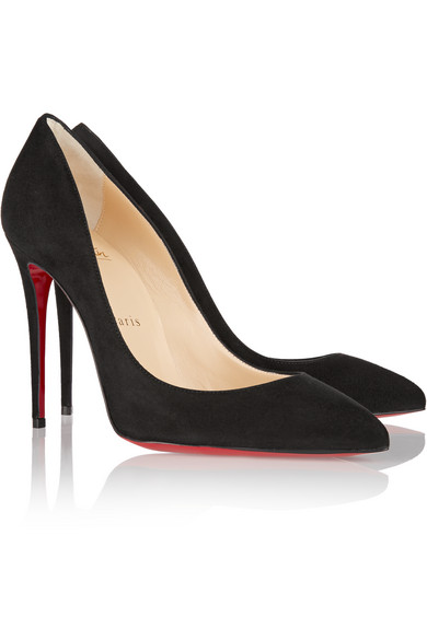 christian louboutin pigalle follies suede pumps