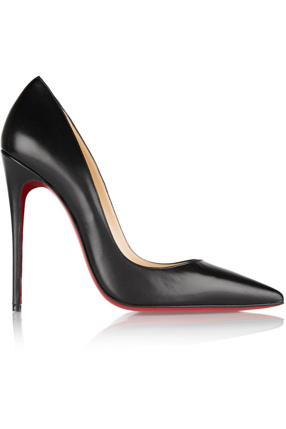 Christian Louboutin So Kate 120 Leather Pumps, Black, Women's US Size: 5, Size: 35.5