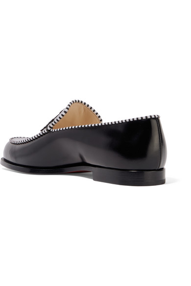a8096bfda62c Christian Louboutin. Laperouza embroidered leather loafers. £575. Zoom In