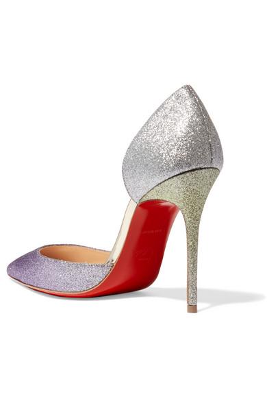 size 40 15634 01822 Iriza 100 dégradé glittered leather pumps