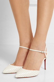 Christian Louboutin Baila 85 spiked leather pumps