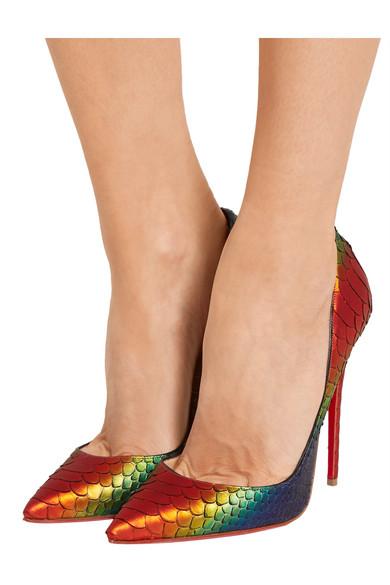 red bottom shoes for men price - Christian Louboutin | So Kate 120 python pumps | NET-A-PORTER.COM