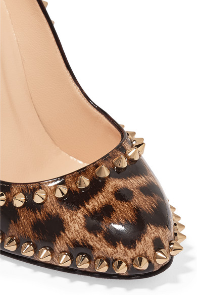 43ec03a90e5 105 leopard-print calf hair pumps