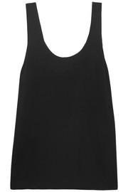 Equipment Kaylen washed-silk tank