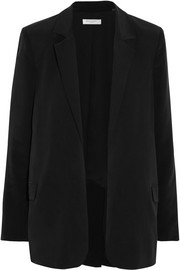 Mitchell washed-silk blazer