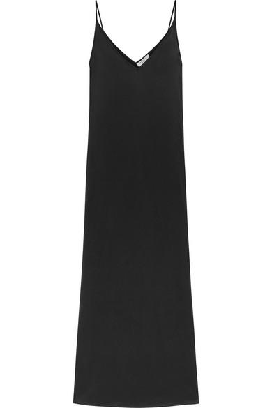 Racquel silk charmeuse maxi dress