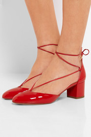 Alexa patent-leather pumps