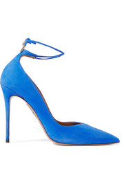 Allure suede pumps