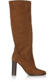 Honor suede knee boots