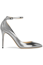 Lucy metallic leather pumps