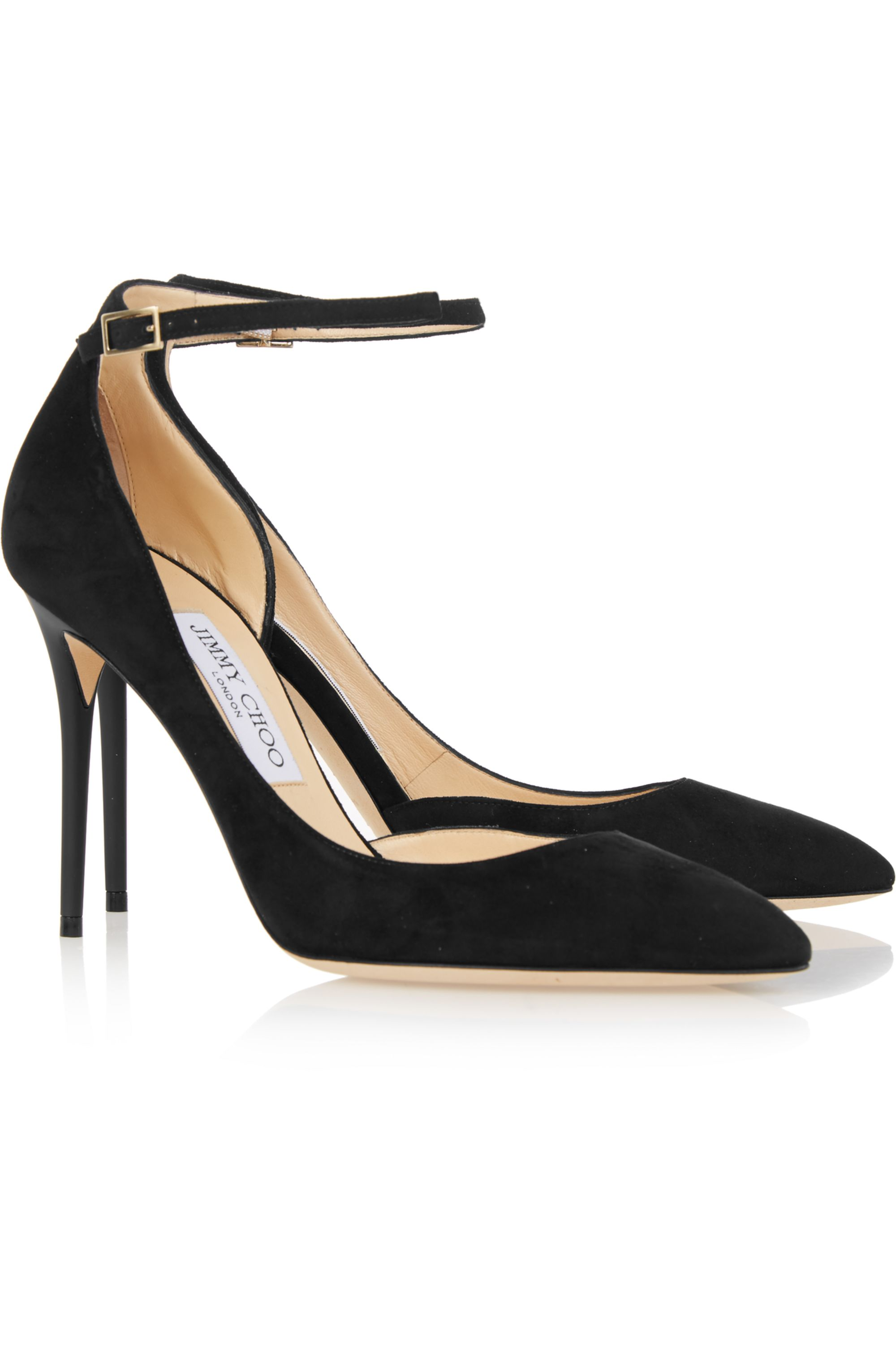 Jimmy Choo Lucy suede pumps