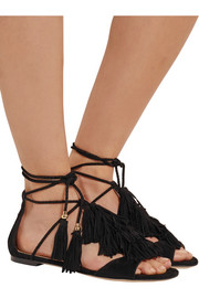 Jimmy Choo Mindy fringed suede sandals