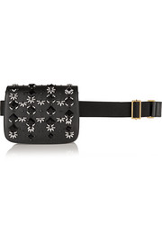 Marni Embellished leather belt bag