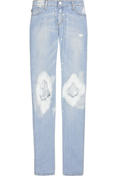 Acne Kex low-rise bleached skinny jeans