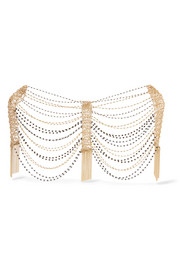 Rosantica Silvia gold-tone beaded body chain